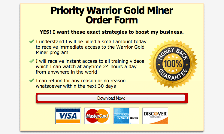 gm4 Warrior Gold Miner Over $74,000 Plus 6,269 Paid Customers wso affiliate marketing